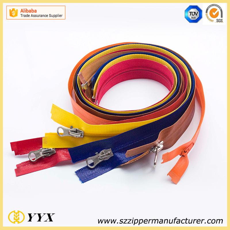 Good Quality 8# Close end Plastic Zipper for Bags