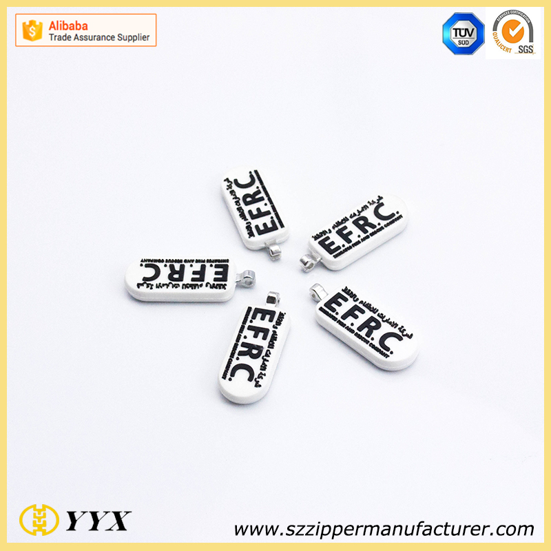 Custom metal logo for bag, alloy logo metal tag for handbags