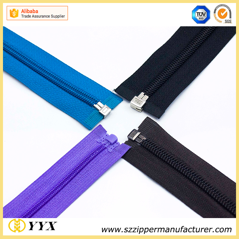 Heavy Duty Nylon Head to Head Zipper for Backpack
