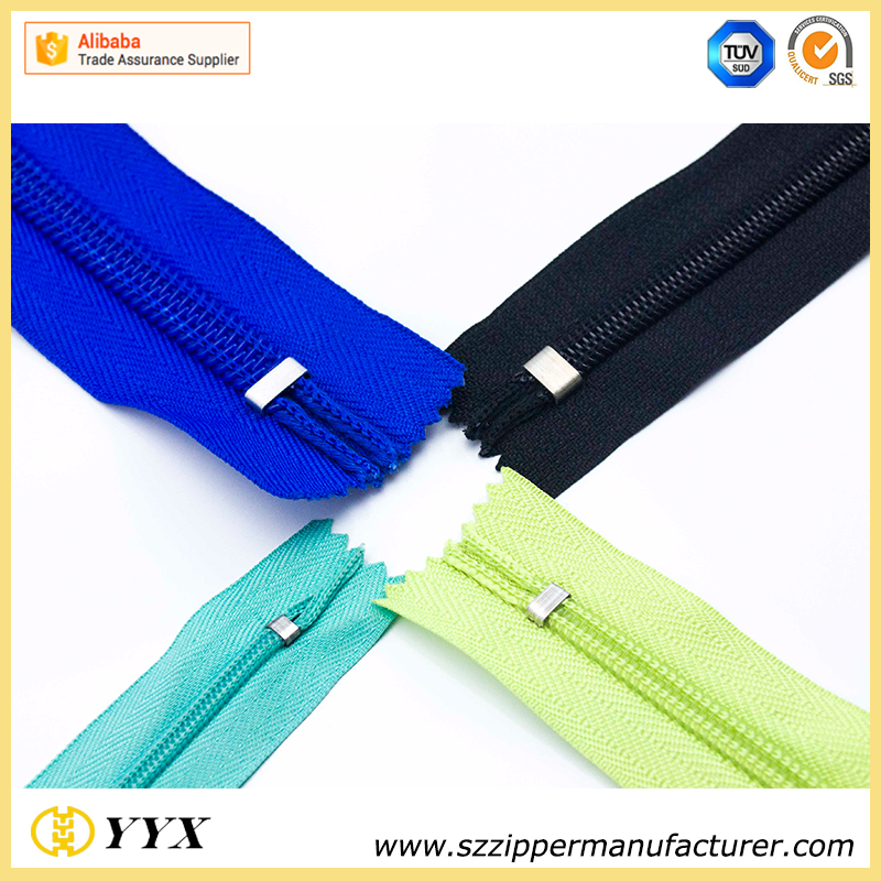 Top quality factory YYX water repellent zipper