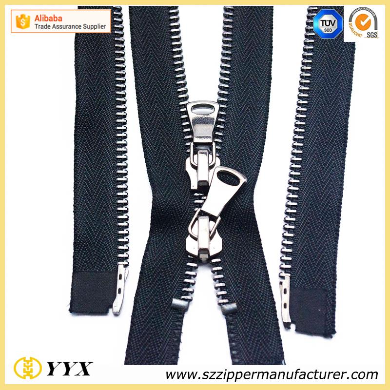 5# long chain metal zipper rolls