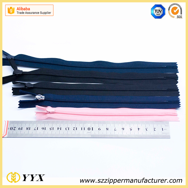 Heavy duty No.5 priting nylon waterproof zipper