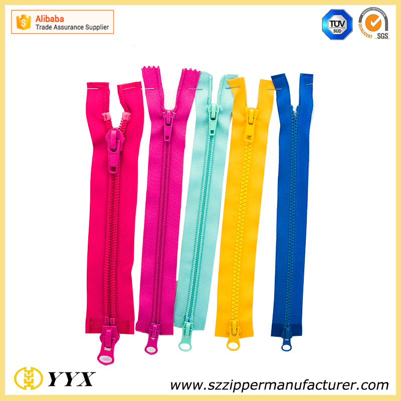 hot sale waterproof zipper, 5# nylon waterproof zipper