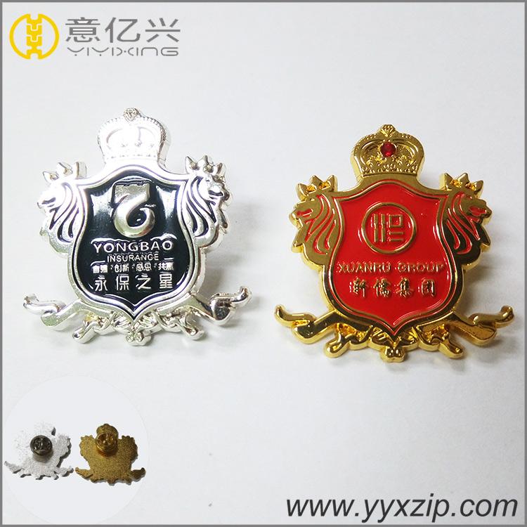 Durable name detective badges emblem patch pin