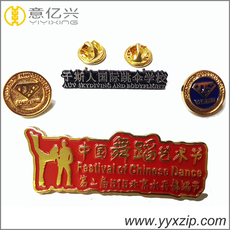 newest design colorful plating metal custom lapel pin