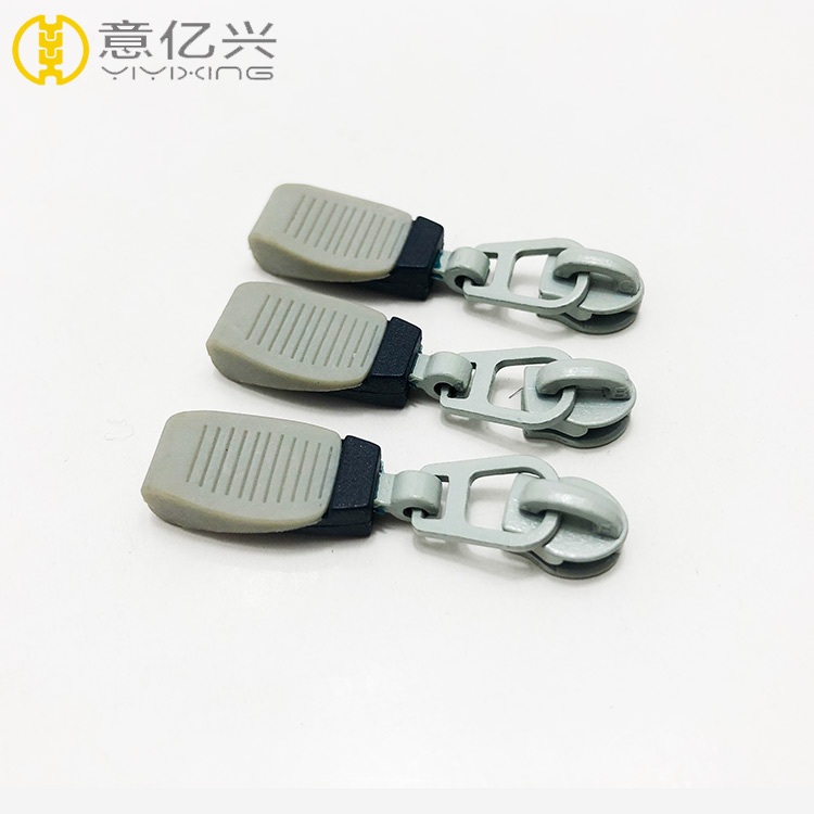 Good quality popular garment plastic zipper puller and bag zipper puller